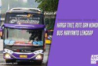 Tiket Dan Agen Bus Haryanto