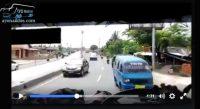 Video Bus PO. Luragung Nekat Melawan Arus