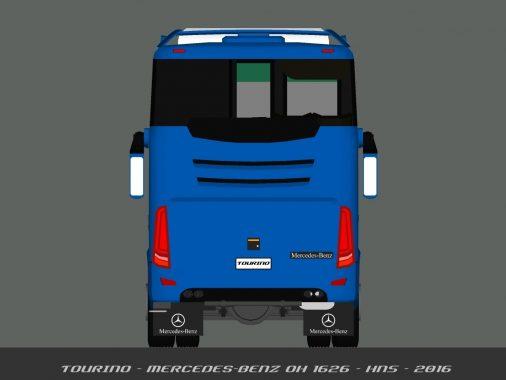 Bus terbaru Tourino Belakang