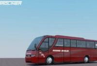 Desain bus Agung Mulia