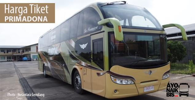 Harga tiket bus Makassar