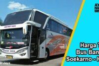 Harga Tiket Bus Bandara