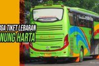 Harga Tiket Lebaran