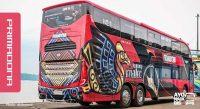 Bus Primadona Makassar