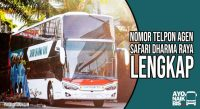 agen bus Safari Dharma Raya
