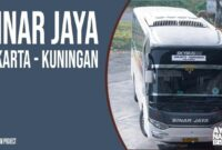 Bus AKAP Sinar Jaya