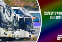Bus Sinar Jaya Wonogiri