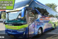 Bus Trans Jawa Mitra Titian Nusantara