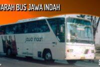 Sejarah Bus Jawa Indah