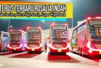 Bus Tingkat Rosalia Indah