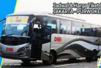 Harga Tiket BUs Jakarta Purwokerto