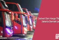 Harga Tiket Bus Jakarta demak