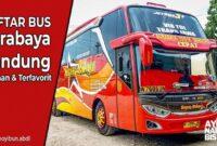 Bus malam Surabaya Bandung