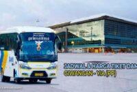 Bus Giwangan ke YIA