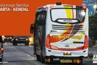 Harga Tiket bus Jakarta Kendal