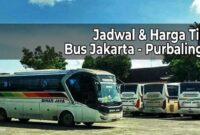 Tiket Bus Jakarta Purbalingga