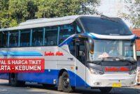 Tiket Bus Jakarta Kebumen
