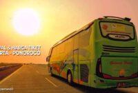 Tiket Bus Jakarta Ponorogo