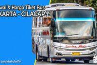Tiket Bus Jakarta Cilacap
