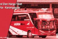 Tiket Bus jakarta Karanganyar
