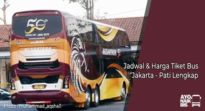 Harga Tiket Bus Jakarta Pati