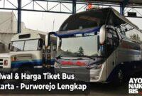 Tiket Bus Jakarta Purworejo