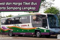 Harga Tiket Bus Jakarta Sampang
