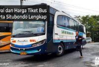 Harga Tiket bus Jakarta Situbondo