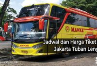 bus AKAP jakarta Tuban
