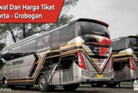 Tiket bus Jakarta Grobogan