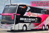 Harga Tiket bus Metro Permai