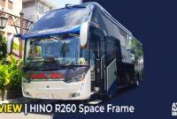 HINO R260 Space Frame
