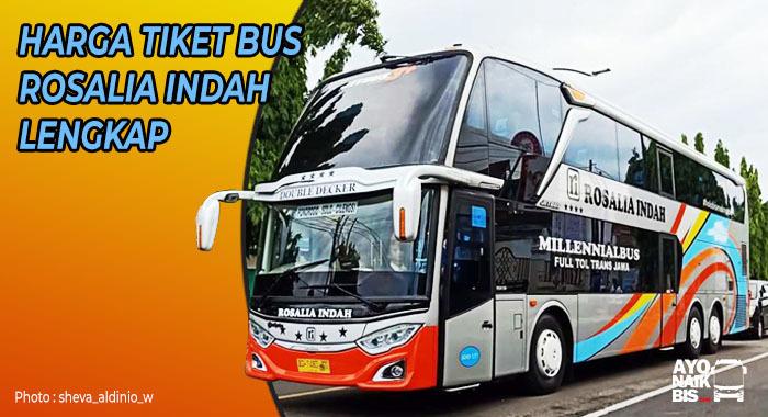Harga Tiket Bus Rosalia Indah Lengkap Terbaru Semua Jurusan