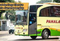 Harga Tiket Bus Jakarta Sumenep