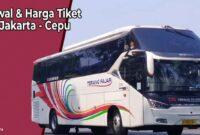 Tiket Bus Jakarta Cepu