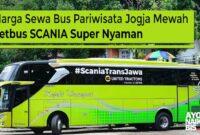 Bus Pariwisata Jogja Jetbus Scania
