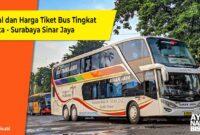Bus Tingkat Jakarat Surabaya