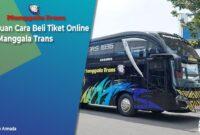 Cara Beli Tiket Bus Manggala Trans