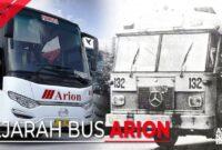 Sejarah Bus Pariwisata Jakarta Arion