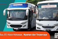 Sewa Bus Pariwisata Makassar