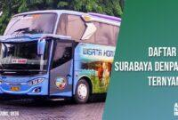 Bus Ternyaman Surabaya Denpasar
