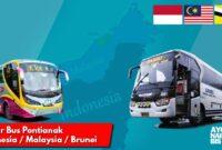 Bus Pontianak Kuching Brunei