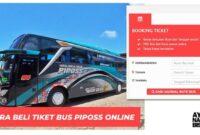Cara Beli Tiket Bus Online Piposs