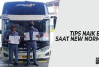 Naik Bus Saat New Normal