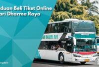 Tiket Online Safari Dharma Raya